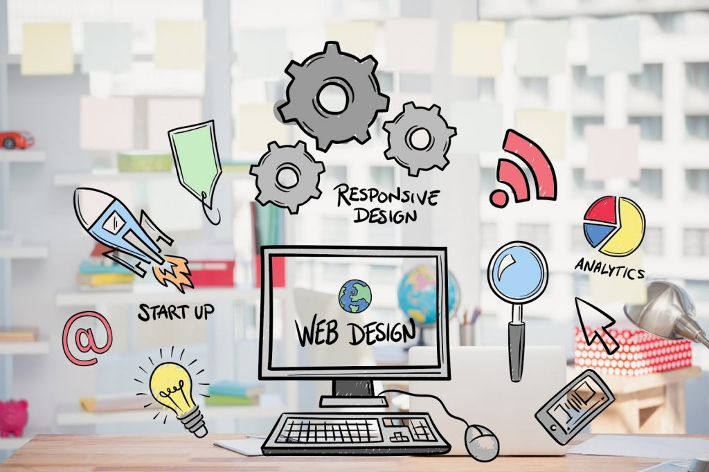 Web designing is used for the creation and planning of websites. Generally speaking, web design is all about dealing with the development process of any website.